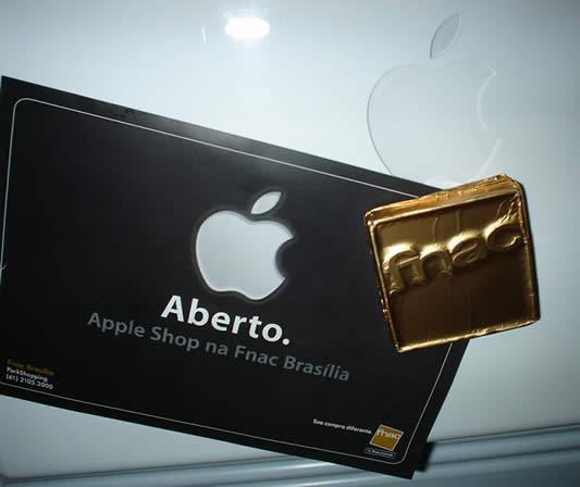 Brindes Apple Shop Brasília