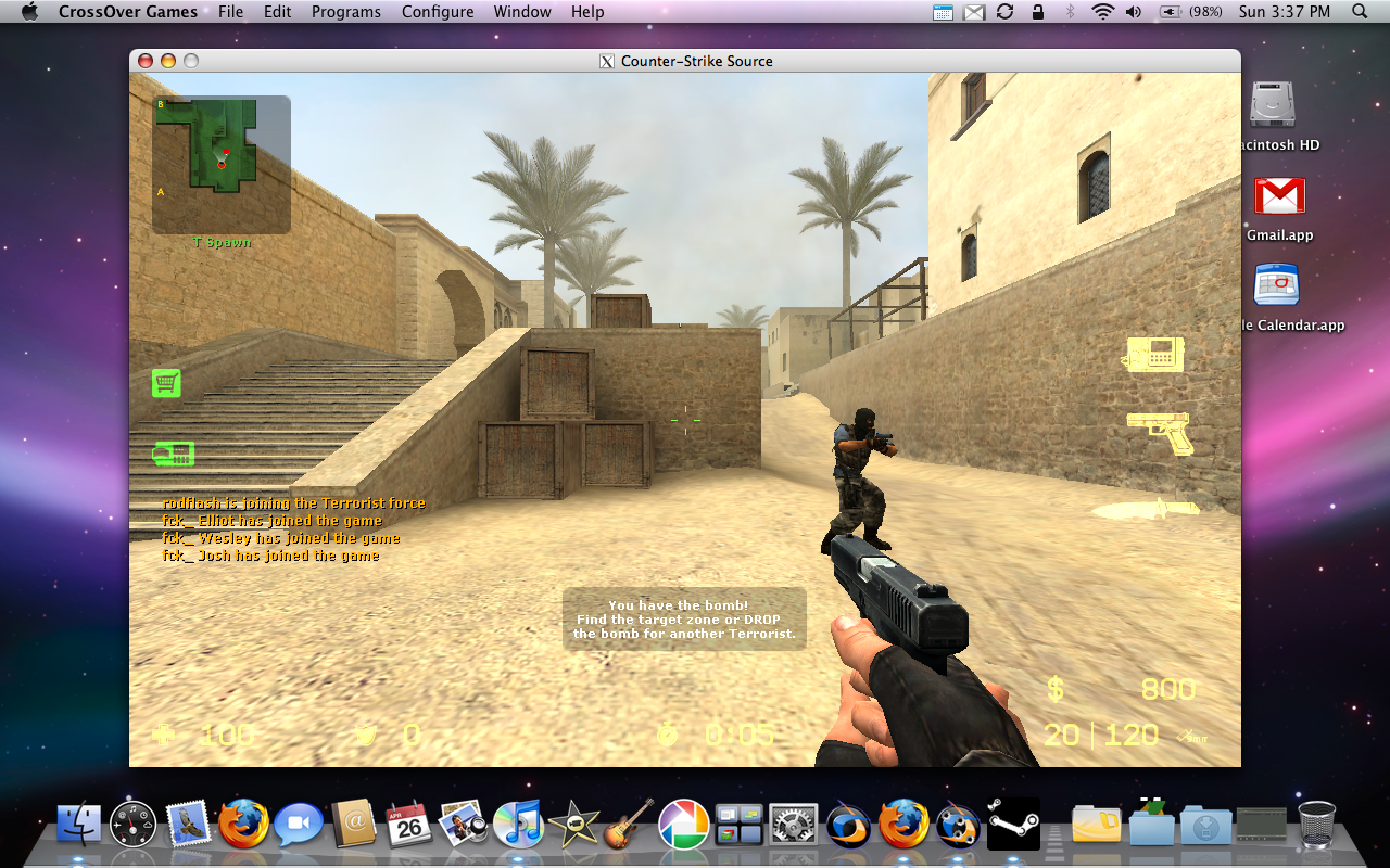 2D version of the classic Counter Strike