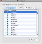 Monolingual Languages